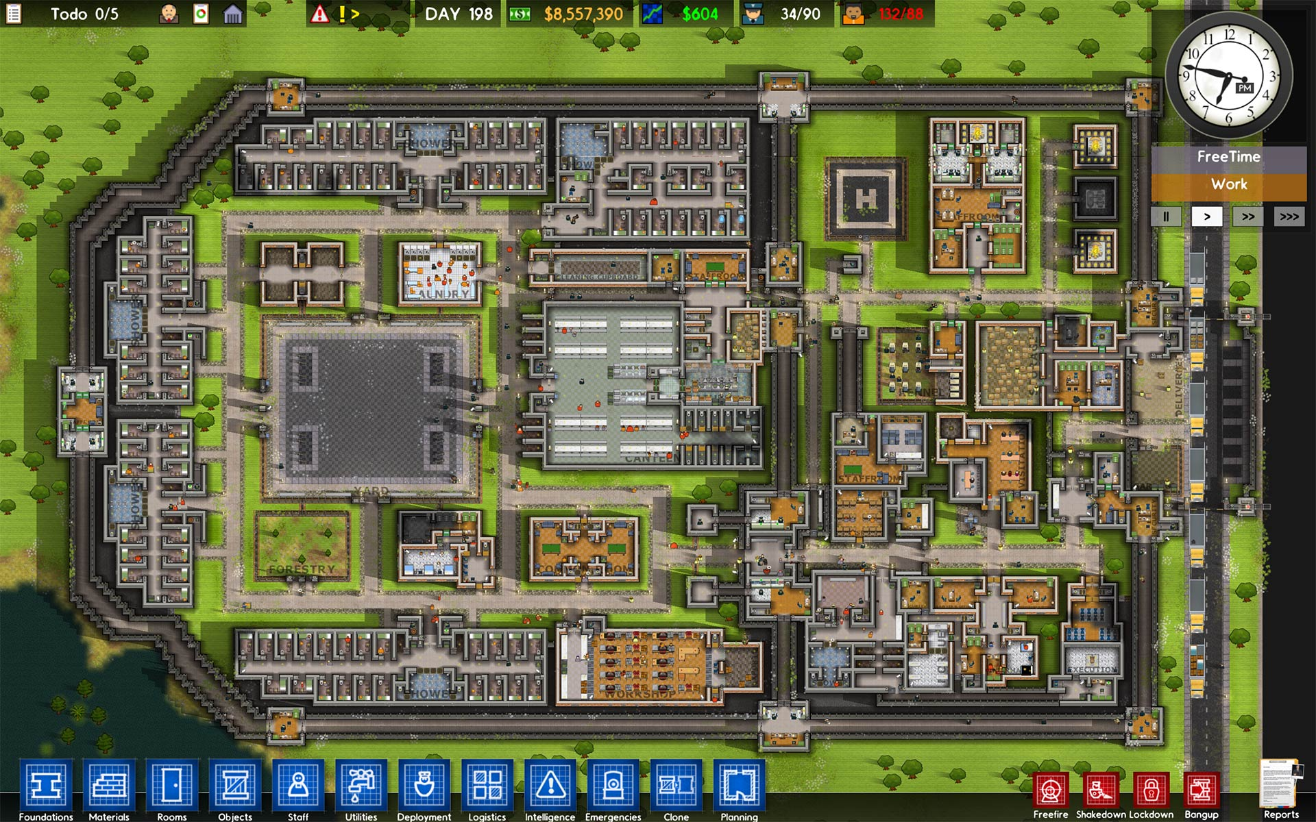 Prison architect by introversion software for Architecte 3d key
