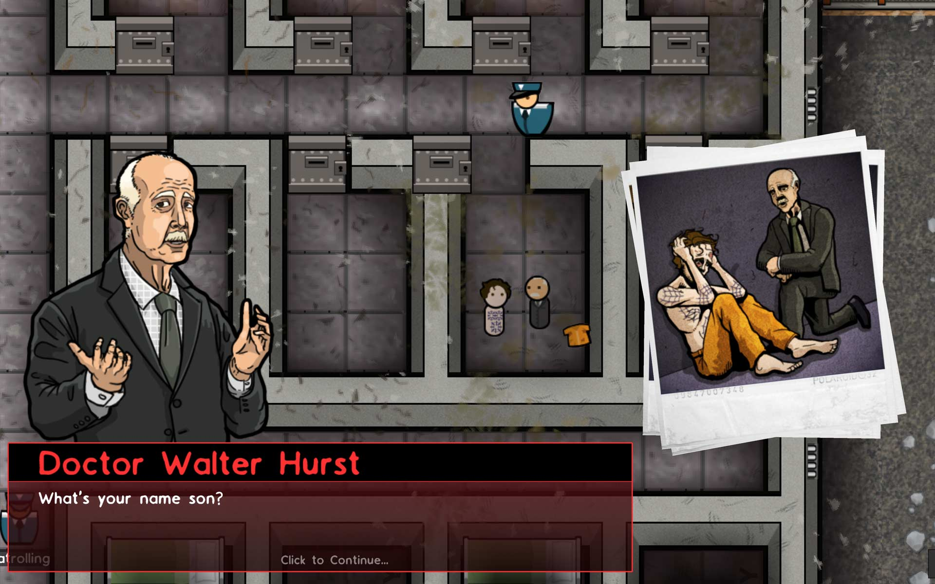 Prison Architect opens with the story of Edward, a man facing the electric  chair for committing a crime of passion. This is followed by four  additional ...