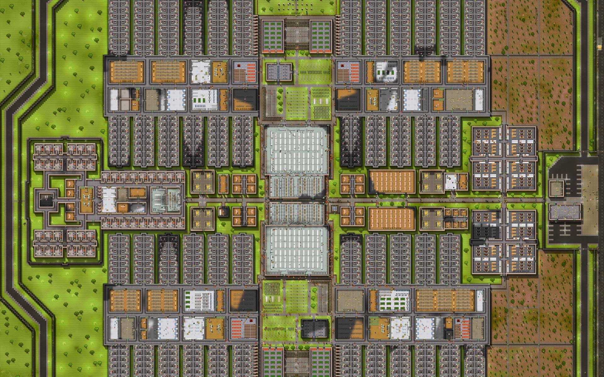 prison architect how to set deployment
